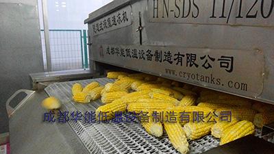 速凍玉米,速凍設備